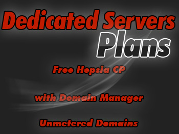 Bargain dedicated servers plan